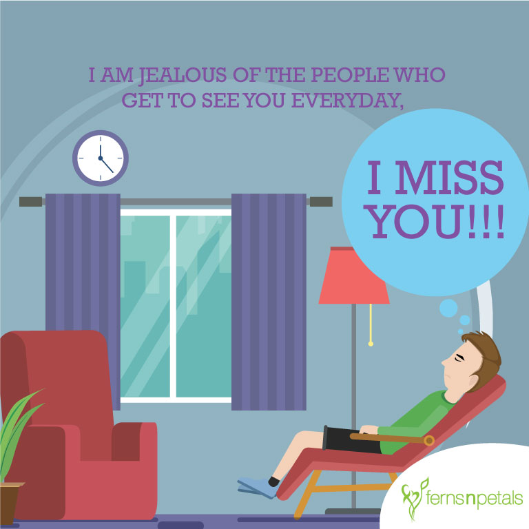 miss you wishes for family