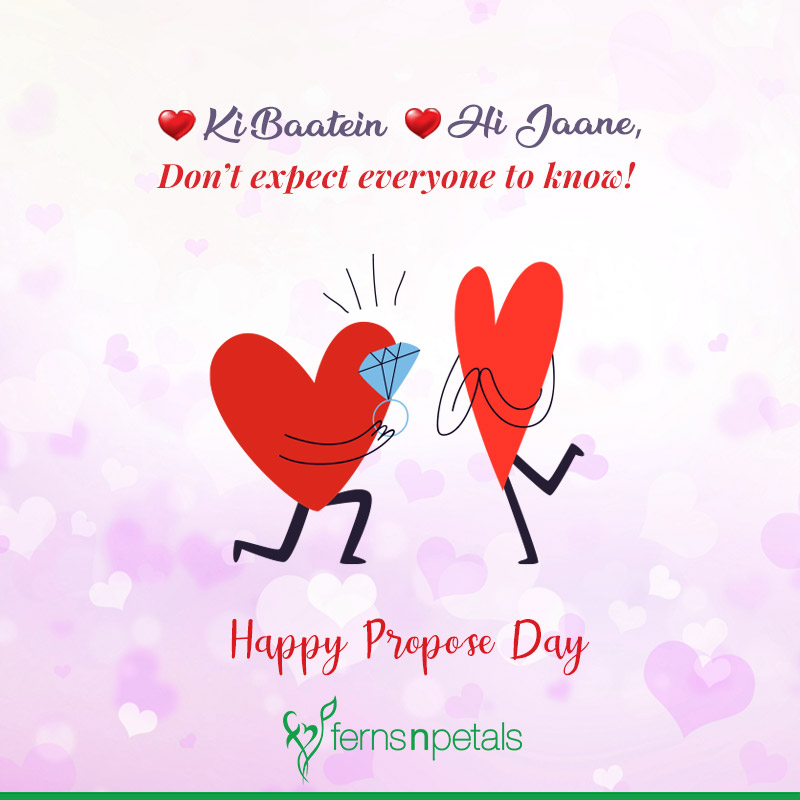 propose day quotes images