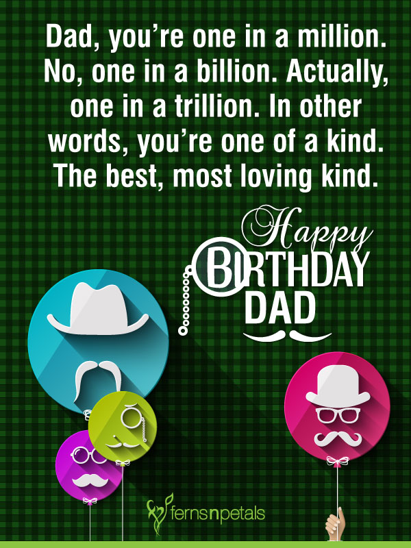 for father bday
