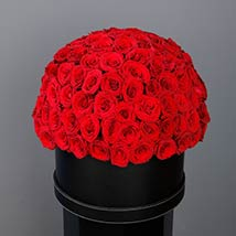 Amazing Red Roses Box: Unique Graduation Gifts