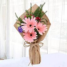 Pink Gerberas Chic Bunch: Gerberas Flowers