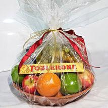 Fruits & Chocolates Gift Basket: Fruit Baskets