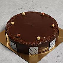 Hazelnut Chocolate Cake: New Year Cake