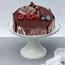 Scrumptious Chocolate Fudge Cake: