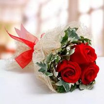 Blush Of Love Bouquet: Valentines Day Roses