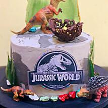 Jurassic World Cake: Cartoon Cakes