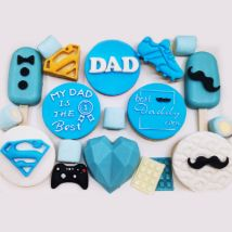 Goodies Box For Father: Fathers Day Gift Ideas