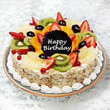 Birthday Fruit Cake: Birthday Cake