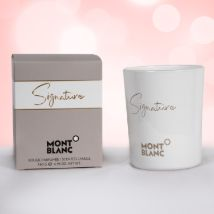Mont Blanc Signature Scented Candle: